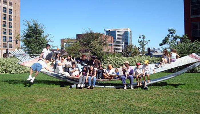 The Big Hammock Project, in Boston