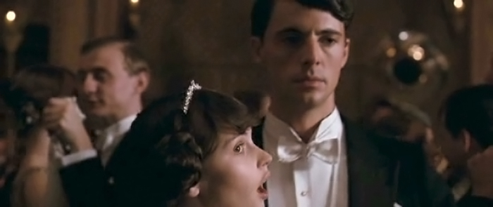 Charles dances with Cordelia in Brideshead Revisited