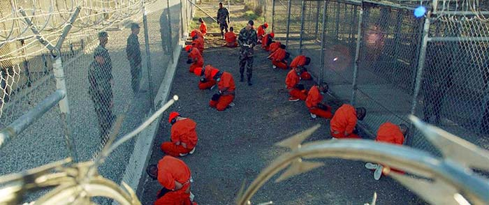 Prisoners at the US Guantanamo Bay facility, many of whom were held for years without trial