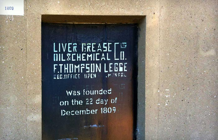 Liver Grease, Oil & Chemical Co Ltd F. Thompson Legge