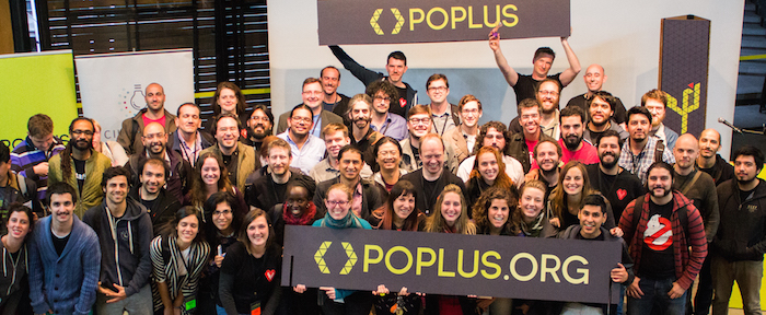 Attendees at Poplus Con, 2014